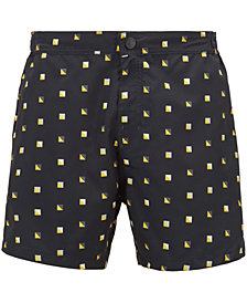 BOSS Men's Patterned Swim Trunks