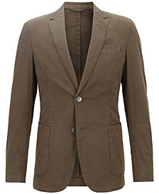 BOSS Men's Slim-Fit Stretch Blazer