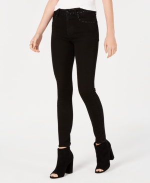 M1858 Alice Studded High-Rise Skinny Jeans, Created for Macy's