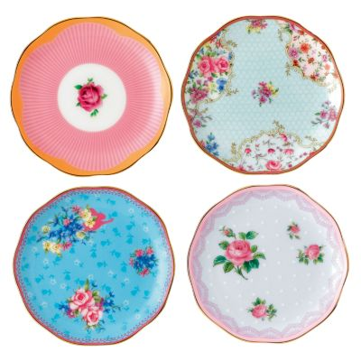 Candy Set/4 Mini Plates