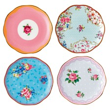 Royal Albert Candy Set/4 Mini Plates