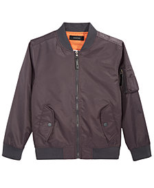 Ring of Fire Bomber Jacket, Big Boys (8-20), Created for Macy's