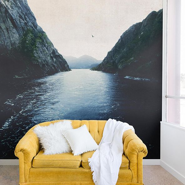 Deny Designs Ingrid Beddoes Finding Inner Peace 12'x8' Wall Mural