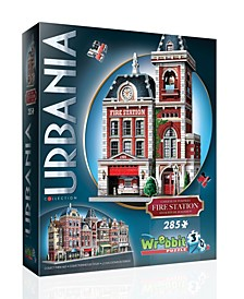 Urbania Collection - Fire Station 3D Puzzle- 285 Pieces