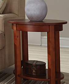 Shaker Cottage Round Accent Table