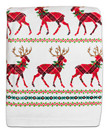 Dena Reindeer Cotton Towel Collection