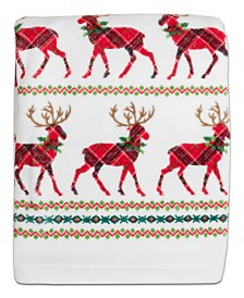 CLOSEOUT! Dena Reindeer Cotton Towel Collection