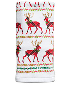 Dena Reindeer Cotton Hand Towel