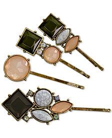GUESS 4-Pc. Set Jeweled Hair Pins