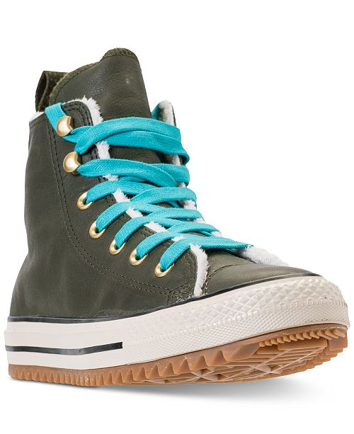 c08ccbd72d5 ... Converse Women s Chuck Taylor All Star Hiker Boot High Top Casual  Sneakers from Finish ...