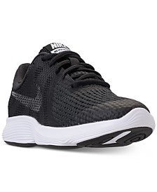 Nike Girls' Revolution 4 Shield Athletic Sneakers from Finish Line