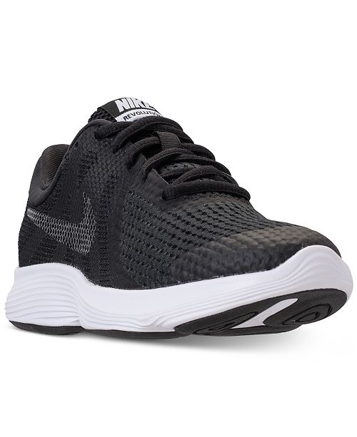 1c1d36dd399d ... Nike Girls  Revolution 4 Shield Athletic Sneakers from Finish Line ...