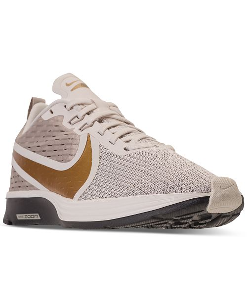 purchase cheap 73fd5 72a3a ... Nike Women s Zoom Strike 2 Running Sneakers from Finish ...