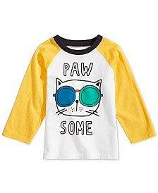 First Impressions Baby Boys Pawsome Graphic Cotton T-Shirt, Created for Macy's
