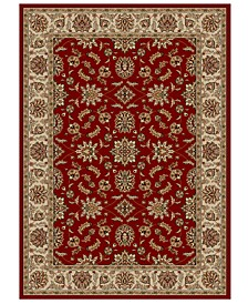 "CLOSEOUT!! Pesaro Meshed Red 3'3"" x 4'11"" Area Rug"