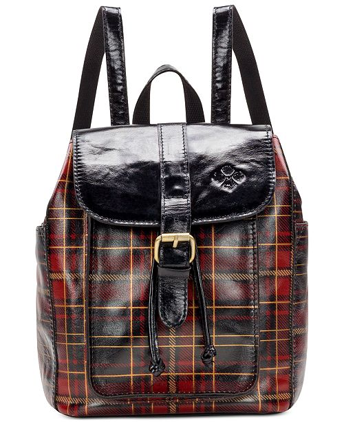 e0366dcb14d138 Patricia Nash Aberdeen Tartan Plaid Leather Backpack & Reviews ...
