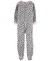 8e21e8c7ed Carter s Little   Big Girls Animal-Print Fleece Pajamas