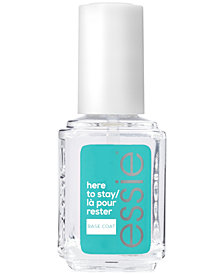 essie Here To Stay Base Coat, 0.46-oz.