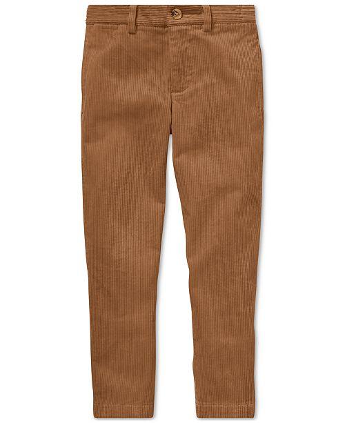 74e4c90f Polo Ralph Lauren Toddler Boys Slim Fit Stretch Corduroy ...