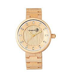 Branch Wood Bracelet Watch Khaki 45Mm