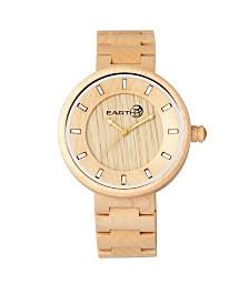 Earth Wood Branch Wood Bracelet Watch Khaki 45Mm