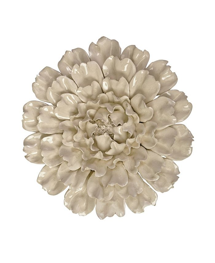 IMAX - Isabella Large Ceramic Wall Decor Flower