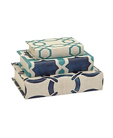 Imax Hadley Book Boxes - Set of 3