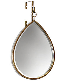 Haile Tear Drop Mirror, Quick Ship