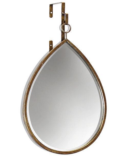 StyleCraft Haile Tear Drop Mirror, Quick Ship