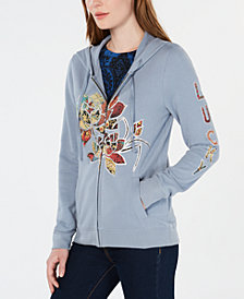 Lucky Brand Legacy Floral-Graphic Hoodie