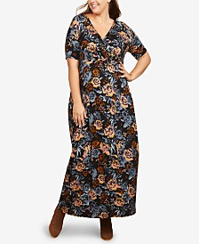Motherhood Maternity Plus Size Maxi Dress