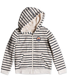 Roxy Big Girls Faux-Sherpa Hoodie