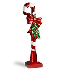 "National Tree 36"" Candy Cane with Bow"