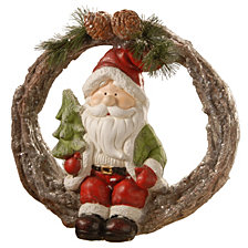 "National Tree Company 14"" Santa"