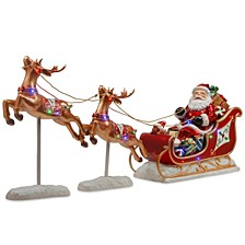 Santa's Sleigh and Reindeer Assortment