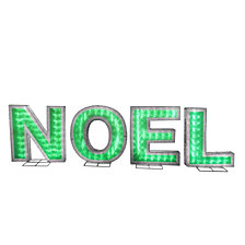 National Tree Company Pre-Lit NOEL Decoration