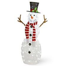 """48"""" Pre-Lit Snowman Decoration"""