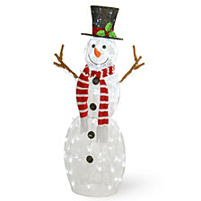 "National Tree Company 48"" Pre-Lit Snowman Decoration"