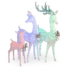 National Tree Deer Family Assortment