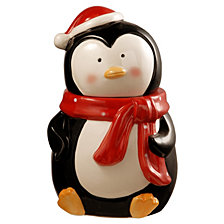 "National Tree 10"" Penguin Cookie Jar"