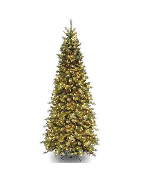 National Tree Company National Tree 10' Tiffany Fir Slim Tree with 800 Clear Lights