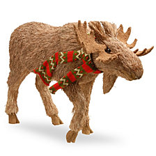"National Tree 13"" Strolling Moose"