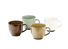 Sango Kudl Set of 4 Assorted Mugs