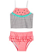 a18e4713e353c First Impressions Baby Girls Watermelon Tankini, Created for Macy's