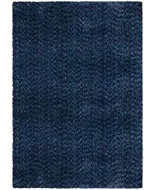 "Jennifer Adams  Cotton Tail Solid 6'7"" x 9'8"" Area Rug"