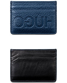 Hugo Boss Men's Victorian Leather Cardholder