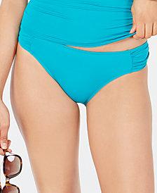 Lauren Ralph Lauren Solid Tab Hipster Bikini Bottoms