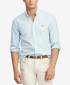 Polo Ralph Lauren Men's Classic Fit Striped Oxford Shirt