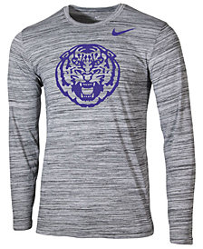 Nike Men's LSU Tigers Legend Travel Long Sleeve T-Shirt