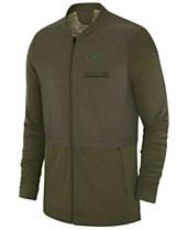 bf03166b3269cc Nike Men s Green Bay Packers Salute To Service Elite Hybrid Jacket